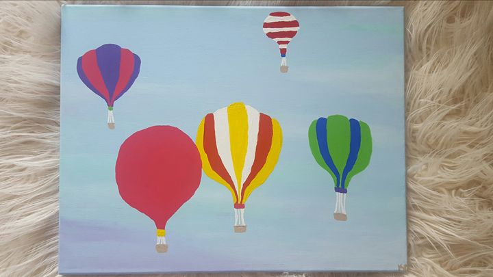 Hot Air Balloons - K.C. Art