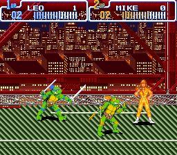 ninja turtles arcade