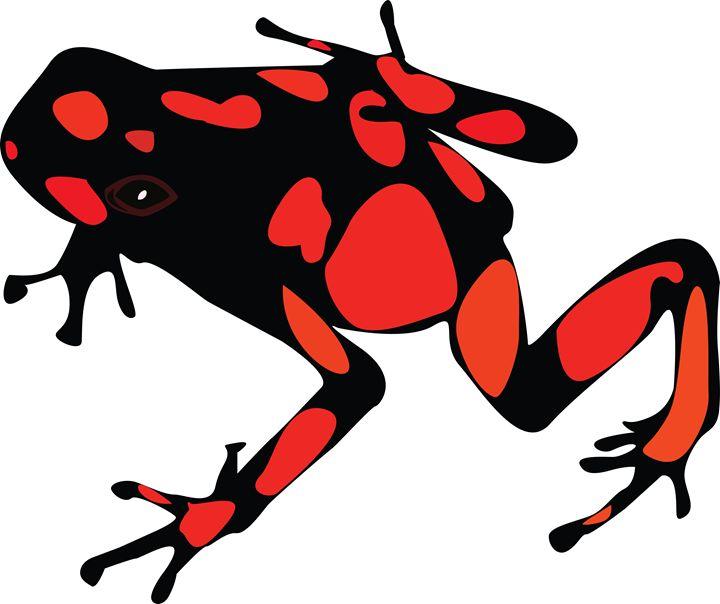 dart frog - World of Illustrations