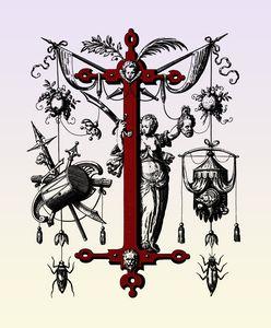 monogram I letter I initial I name I - Elegantchikovart