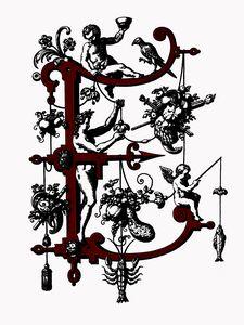 monogram E letter E initial E name E - Elegantchikovart