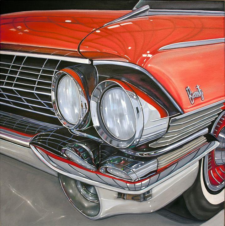 Red Automobile Classic - Still Life