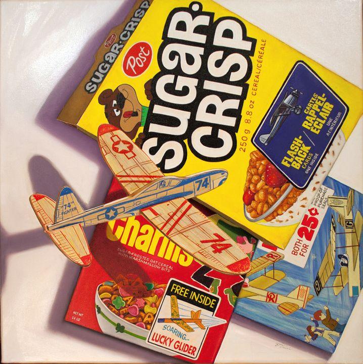 Fly Over Sugar Crisp - Still Life