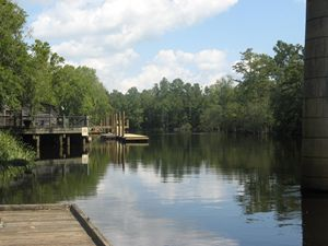 Waccamaw River Dock View