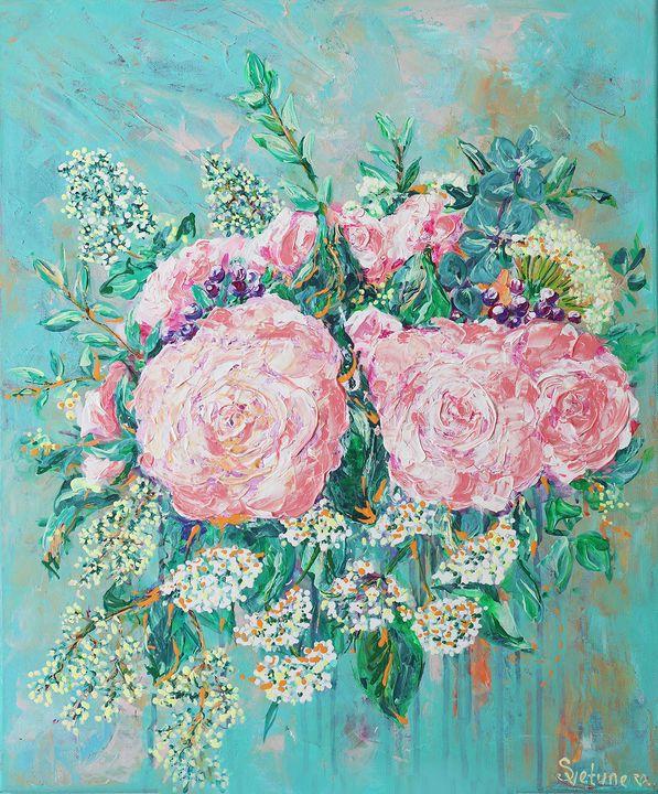 the bride's bouquet - SVETUNE