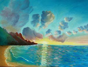 Caribbean sunrise