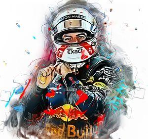 Max Verstappen Formula1 Poster