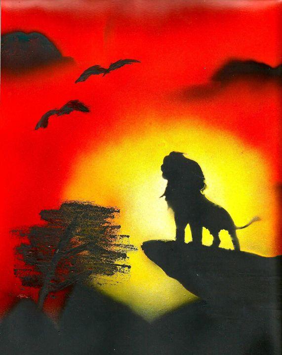 Lion King - BrooksSprayArt