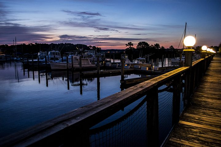 Morning on Deck - Myrtle Beach Days Collection