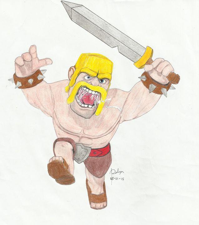Barbarian Character - RalynCMGabison