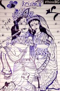 The lovely couple 💞 Radhakrishana