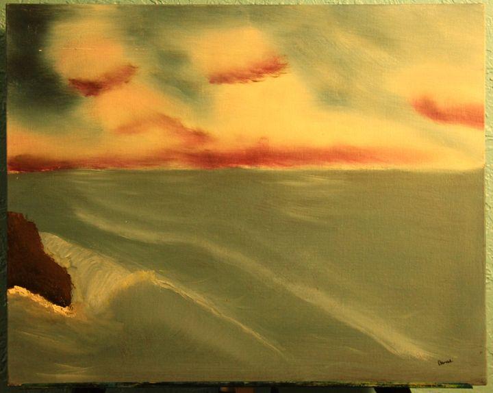 wave - Landscape Paintings