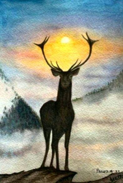 Surefooted as a Deer (Psalms 18:33) - DeeVee