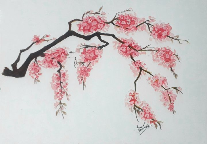 Cherry blossoms to cheer - DeeVee