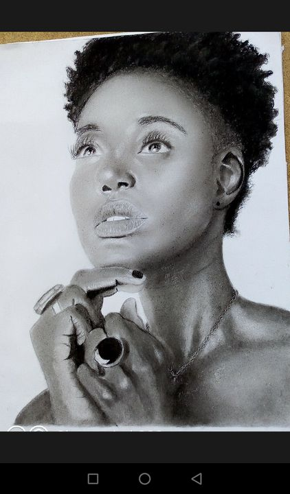 African beauty - SIMZ Art
