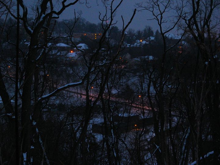 Urban Winter Dusk - Brian Deming