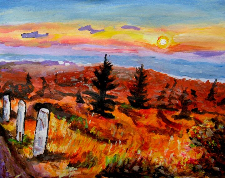 Brockway Mountain Sunset - Brian Deming
