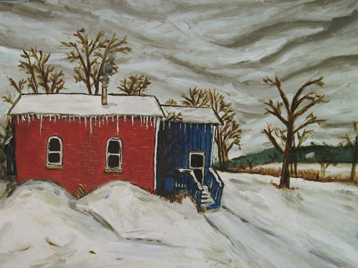 Home in Winter - Brian Deming