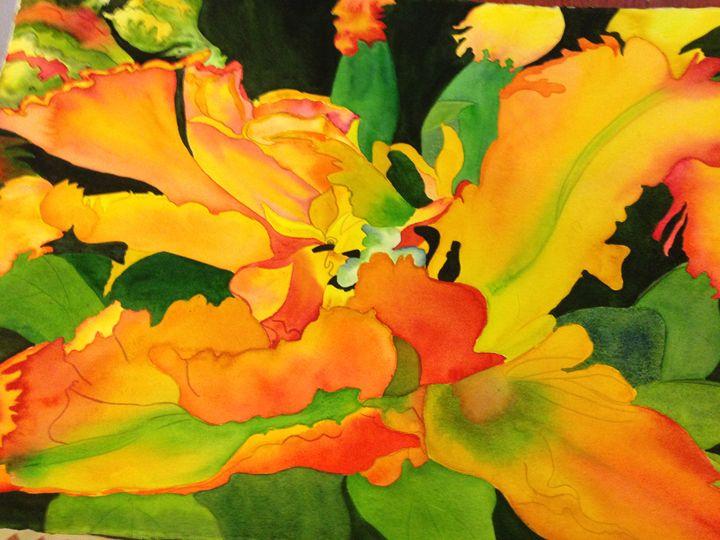 Tulip Mania - Garewal Art Gallery