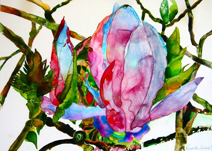 Transedental Magnolia - Garewal Art Gallery