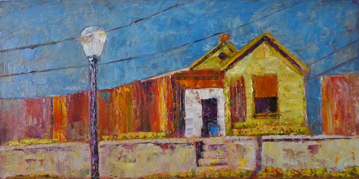 House in Cripple Creek, Colorado - Susan Tormoen
