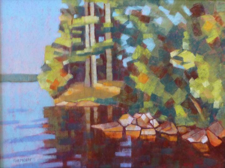 Rocks by the Shore - Susan Tormoen