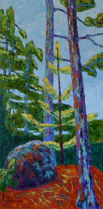 Big Rock and Small Tree - Susan Tormoen