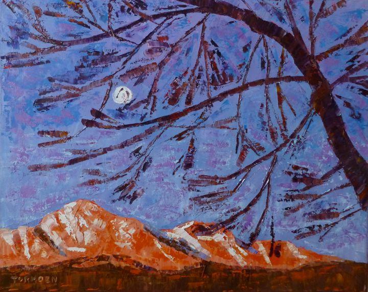 Moon over Pikes Peak - Susan Tormoen