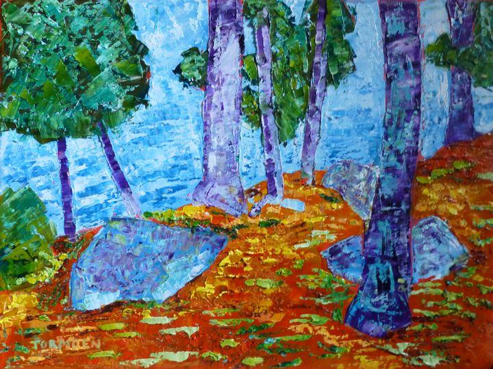 Three Rocks - Susan Tormoen
