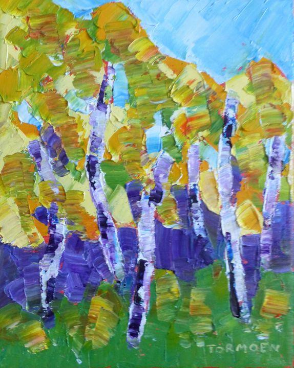 My grove of Aspen - Susan Tormoen