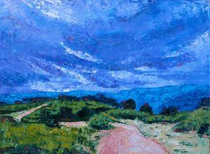 Palmer Park with Stormy Sky