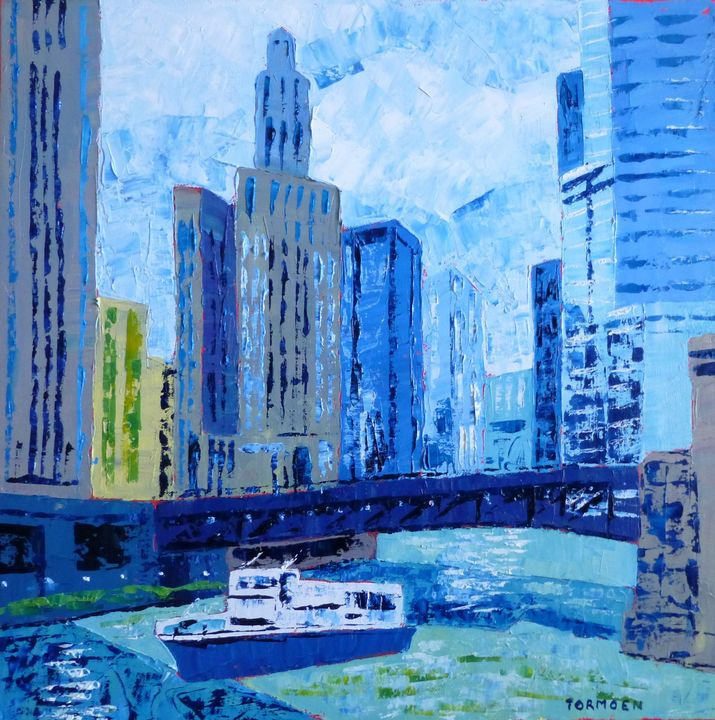 Chicago River - Susan Tormoen