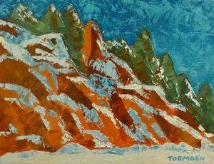 Snow on the Rocks II