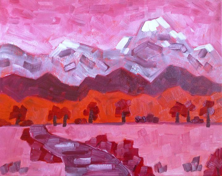 Peak in Pink - Susan Tormoen