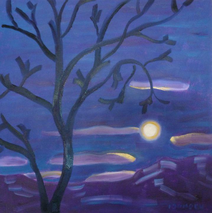 Moon Setting before Dawn - Susan Tormoen
