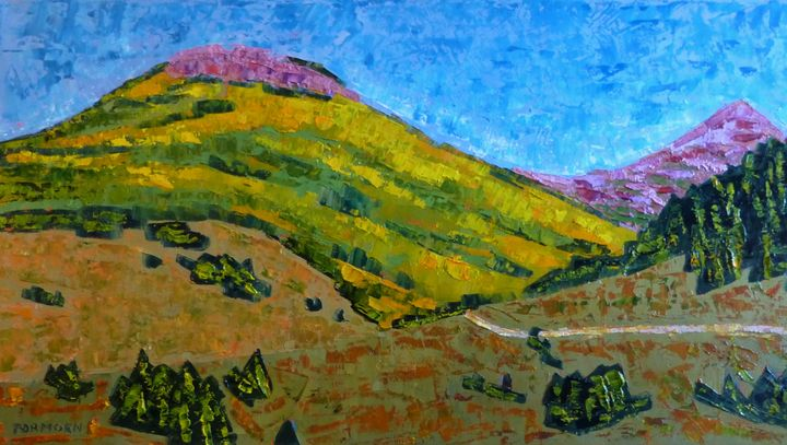 Aspen from a Distance - Susan Tormoen