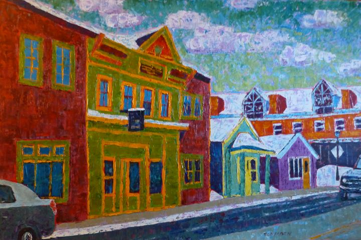 Main Street, Leadville, Colorado - Susan Tormoen