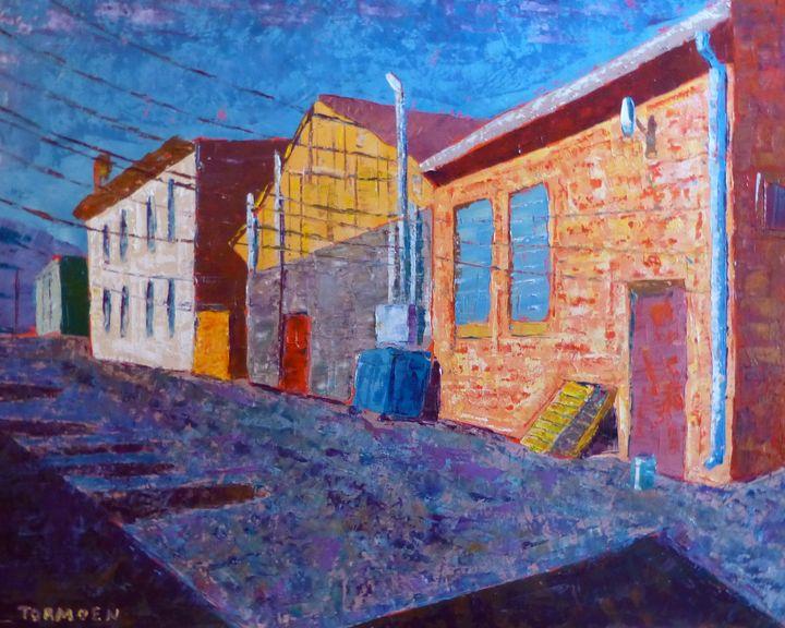 Alley in Salida - Susan Tormoen