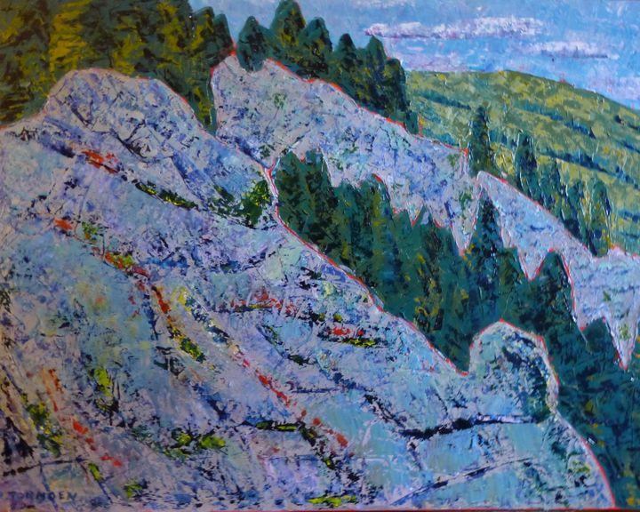 Rocks on the Mountain - Susan Tormoen