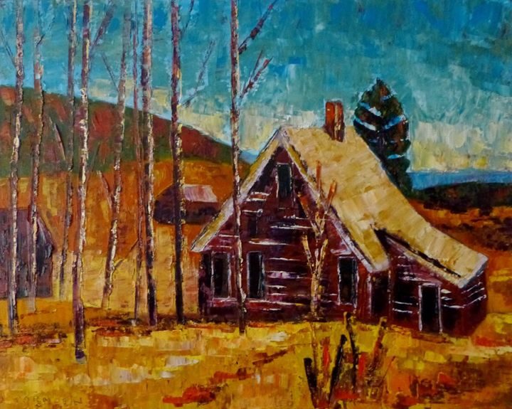 Old House near Victor - Susan Tormoen