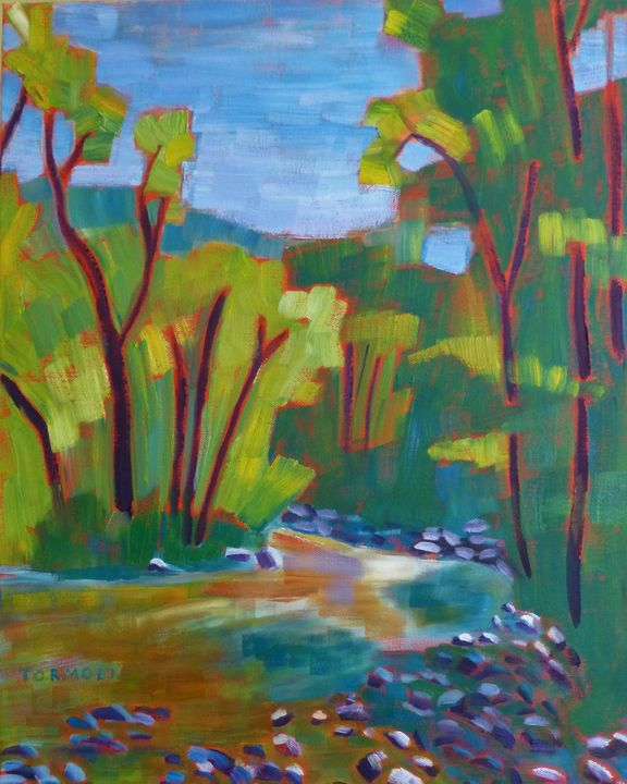 River with Rocks - Susan Tormoen