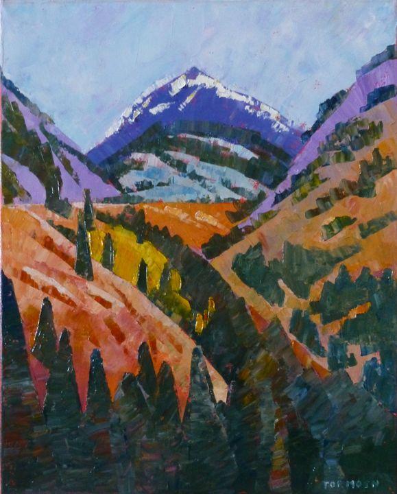 Majestic Mountain - Susan Tormoen