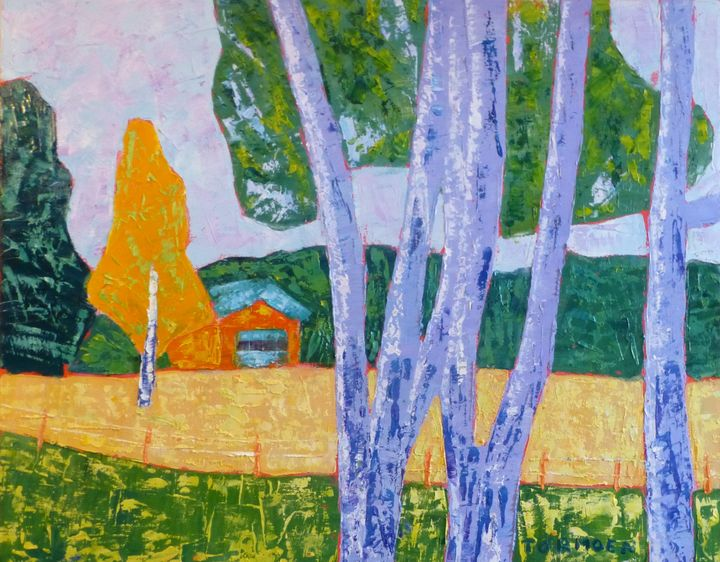 Aspen with Garage - Susan Tormoen