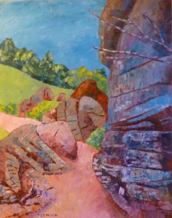 Path with Rocks - Susan Tormoen