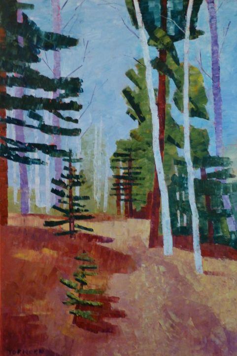 Path with Aspen III - Susan Tormoen