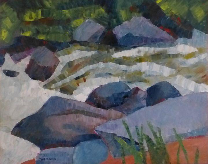 Rushing River IV - Susan Tormoen