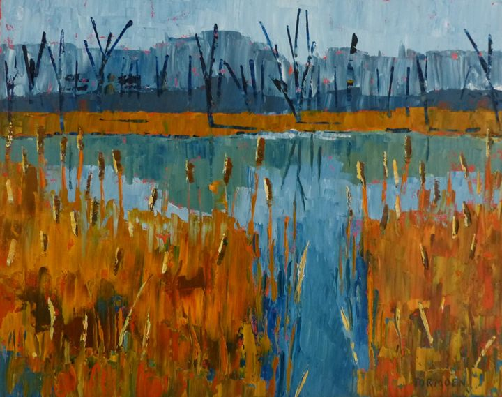 North Park Cattails - Susan Tormoen