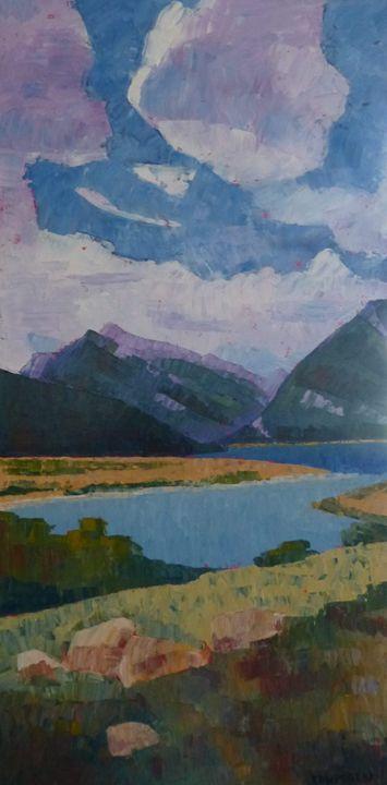 Mountains in the Distance - Susan Tormoen