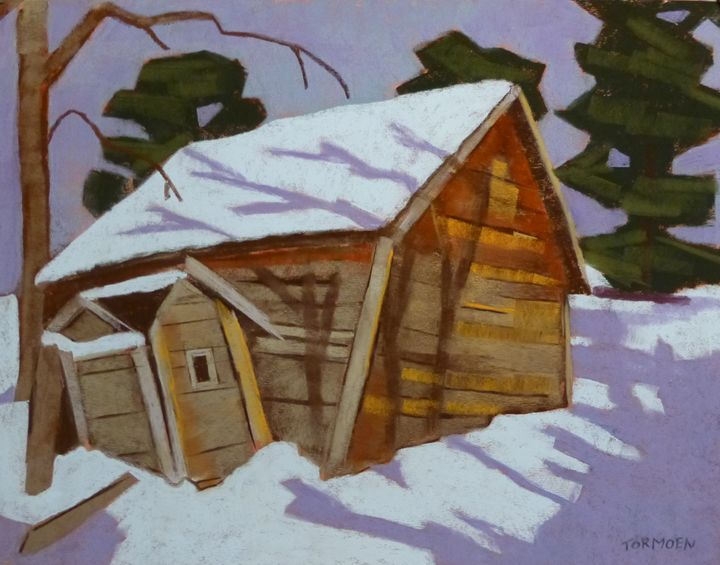 Shadows on the Shed - Susan Tormoen