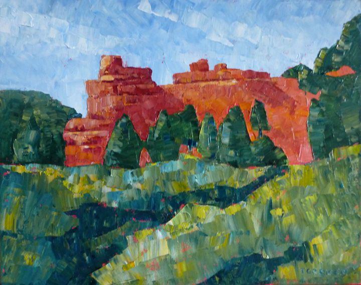 Red Rocks in Utah - Susan Tormoen